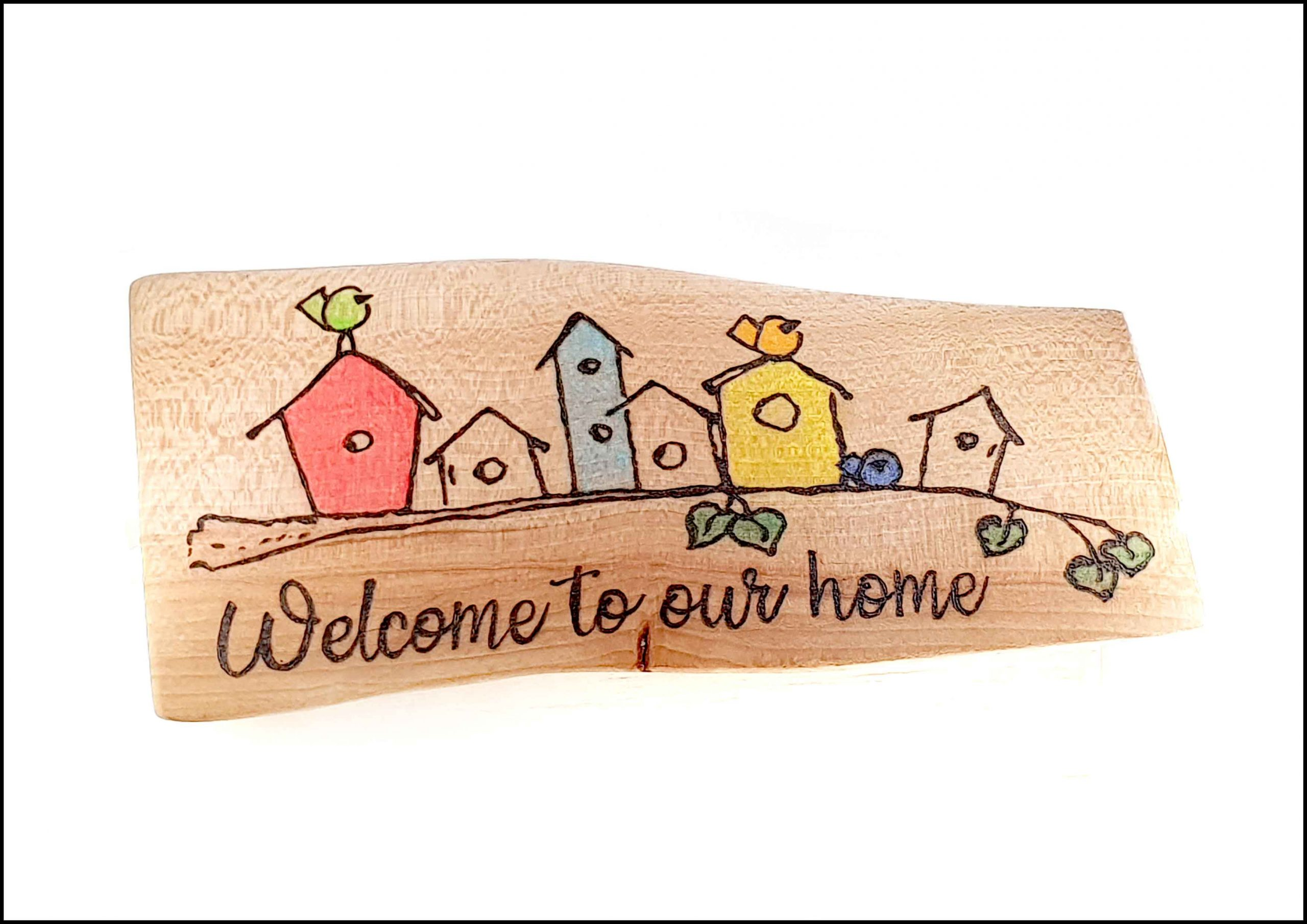 Welcome to our home Image
